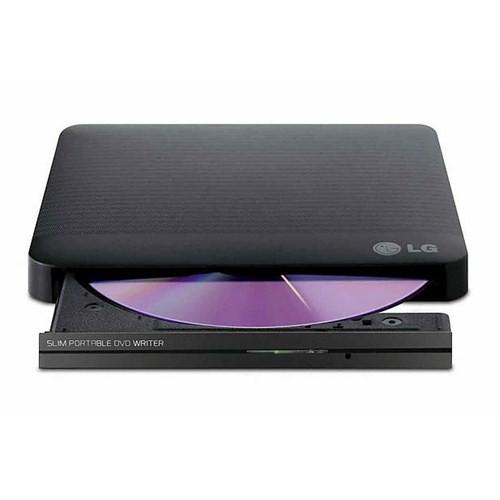 LG 24X USB2.0 Harici Slim Siyah DVD-RW Harici Dvd Sürücü