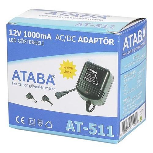 Ataba At-511 12V 1000Mah Telefon & Şarj Adaptörü