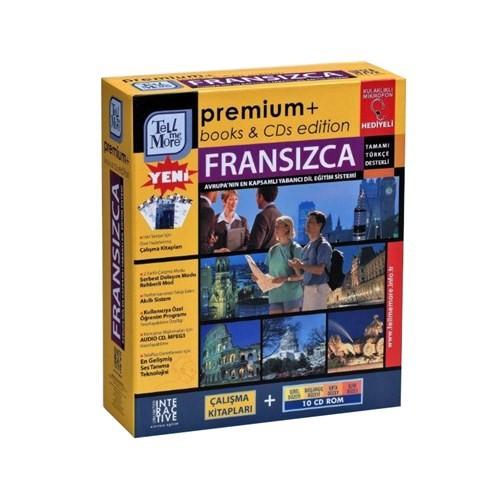 Tell Me More Premium Fransızca-Giriş+Başlangıç + Orta + İleri Düzey (10 Cd Rom)