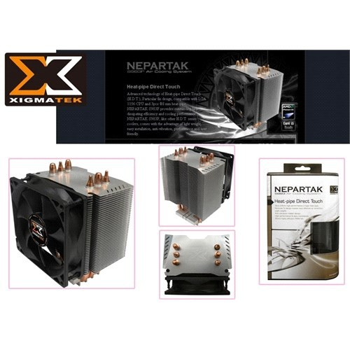 Xigmatek S983f İntel/Amd Tümü Nepartak Cpu Fan