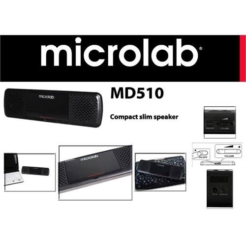 Microlab Md510 2.0 Usb Mini Speaker