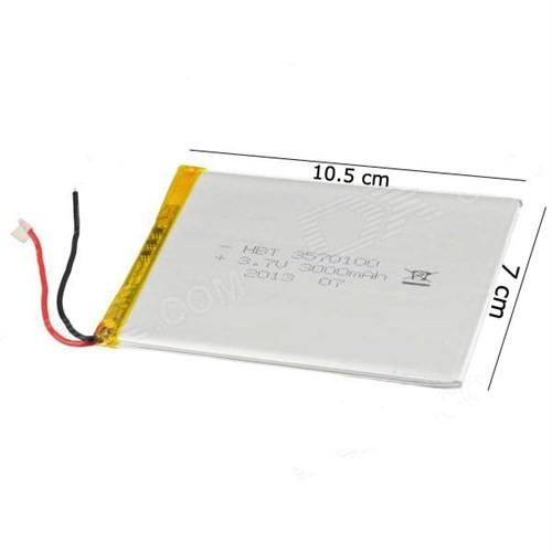 Hometech 7 İnç 3.7V 5000Mah Tablet Batarya