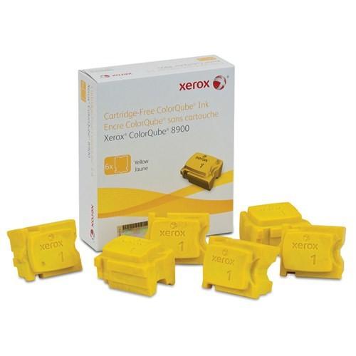 Xerox 108R01024 ColorQube 8900 Genuine Xerox Solid Ink Sarı (6 Sticks)