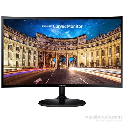 """Samsung LC27F390FHMXUF 27"""" 4ms (Analog+HDMI) Full HD FreeSync Curved Oyuncu Monitör"""