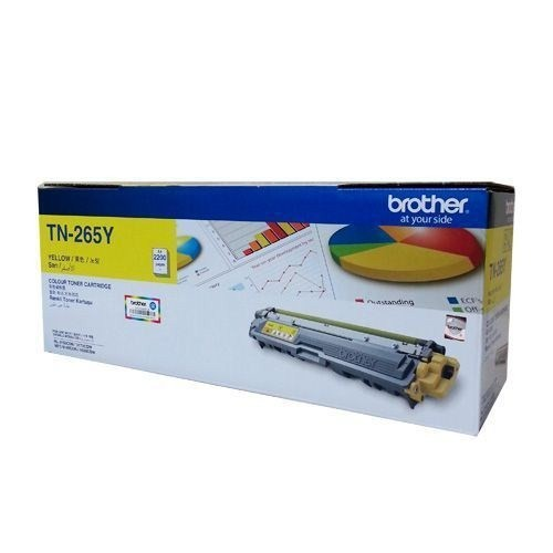 Brother Tn265y Brother Hl-3150Cdn Hl-3170Cdw Mfc-9140Cdn Mfc-9330Cdw 2200 Sayfa Sarı Toner
