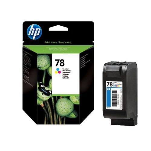 HP 78 Mürekkep Püskürtmeli Baskı Kartuşu C6578AE / C6578A