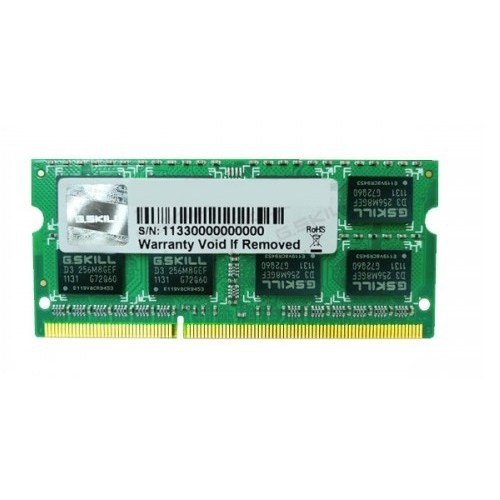 G.Skill Value 8GB 1600MHz DDR3 Notebook Ram F3-1600C11S-8GSQ