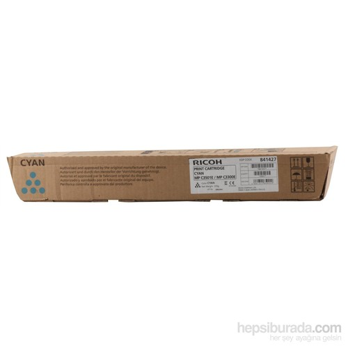 Rıcoh Mp C-2800-3001-3300-3501 Mavi Toner