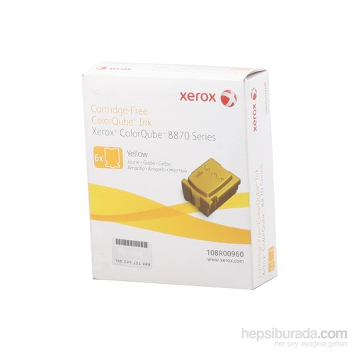 Xerox Phaser 8870 - 8880 Genuine Solid Ink Yellow