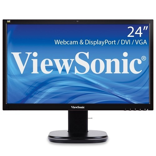 "Viewsonic VG2437SMC 23.6"" 5ms (Analog+DVI+Display) Full HD MWA Led Monitör"