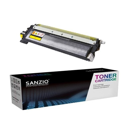 Sanzio Brother Tn 240 Y Sarı Muadil Toner Brother Tn 240 Y Sarı Muadil Toner