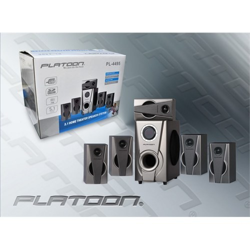 Platoon Pl-4495 5+1 Ses Sistemi Hoparlör Speaker