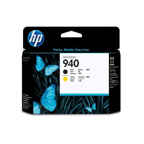 HP 940 Siyah ve Sarı Baskı Kafası C4900AE / C4900A