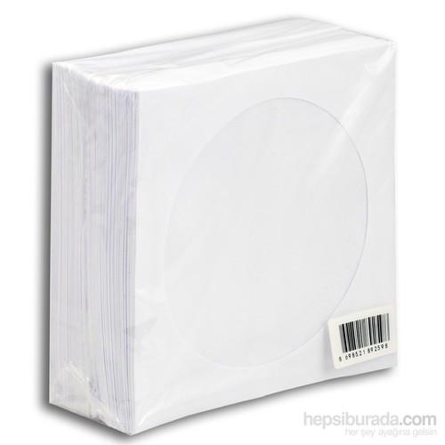 Cd Zarfı 80Gr Pencereli Beyaz Kağıt 100Lük