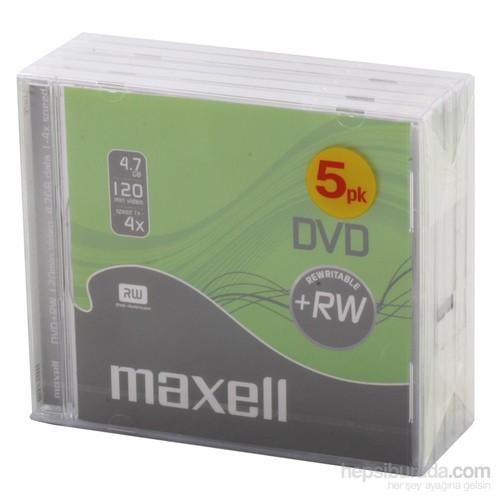 Maxell Dvd+Rw 4.7Gb 4X Video Kutulu Paket