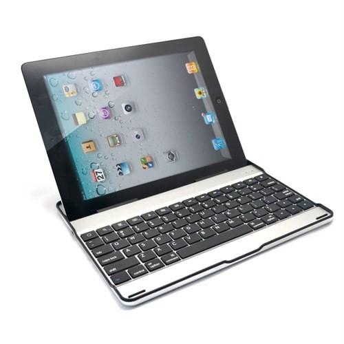 Codegen IK-010 iPad2/iPad3 Şarjlı Bluetooth Klavyeli Alüminyum Kılıf ve Stand