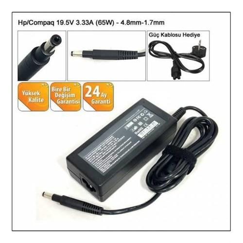 Versatil Hp 19.5V 3.33A 4.8*1.7 Notebook Adaptör Şarjı Ad2
