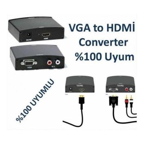 Appa Vga To Hdmı Çevirici Dönüştürücü Converter Hwh-2058