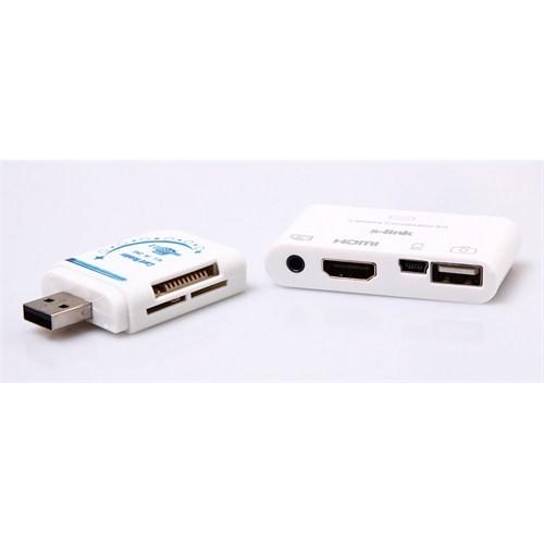 S-Link IP-502 iPod/iPad HDMI+AV Konnektör