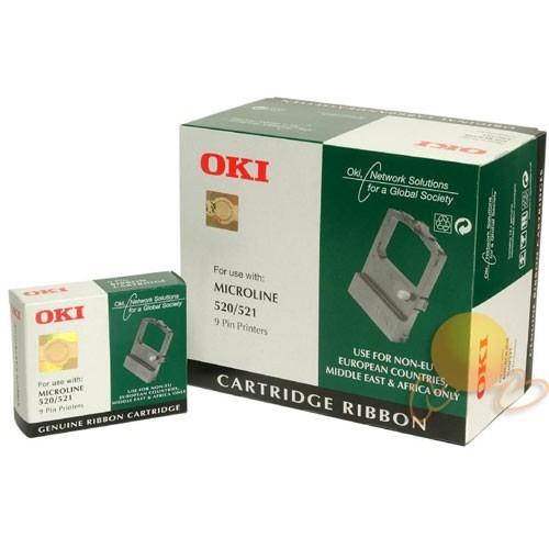 OKI 520 Serisi Siyah Şerit - YS521-OKI