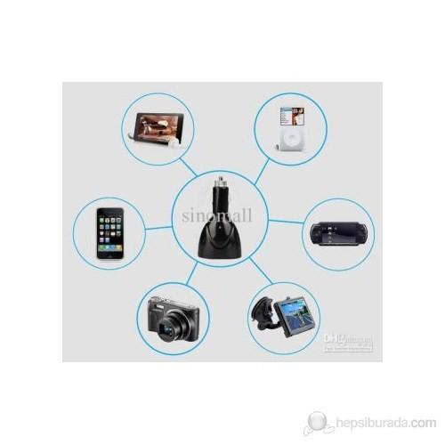AutoCet Araç Çakmak Girişli USB Çoğaltıcı - 3098a
