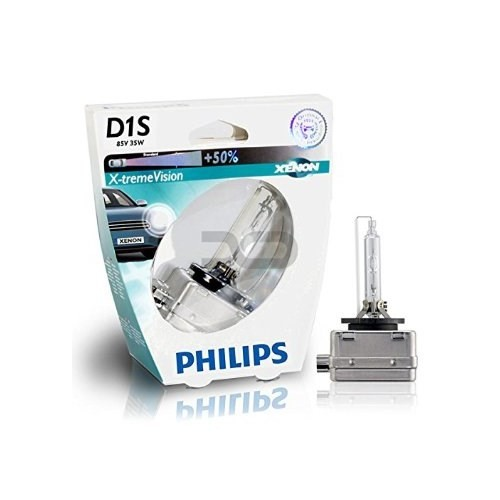 Philips D1s Xenon Far Ampulü 85V 35W 4600K + %50 Fazla Işık Xenon Tip Far Ampulü