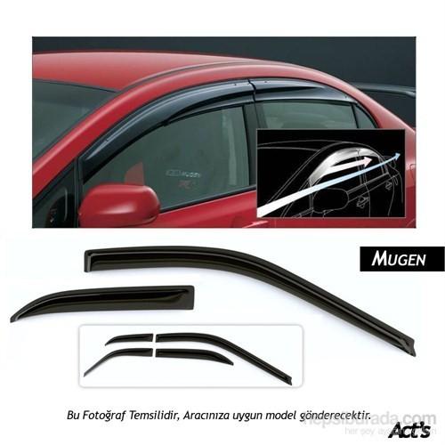 Schwer Mugen Peugeot 307 Cam Rüzgarlığı Seti ( 4 Parça Ön-Arka)-8265