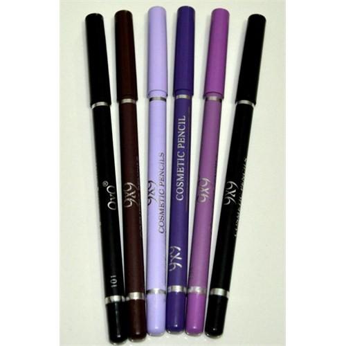 9X9 Long Lasting Göz Dudak Kalemi 6 Lı Paket