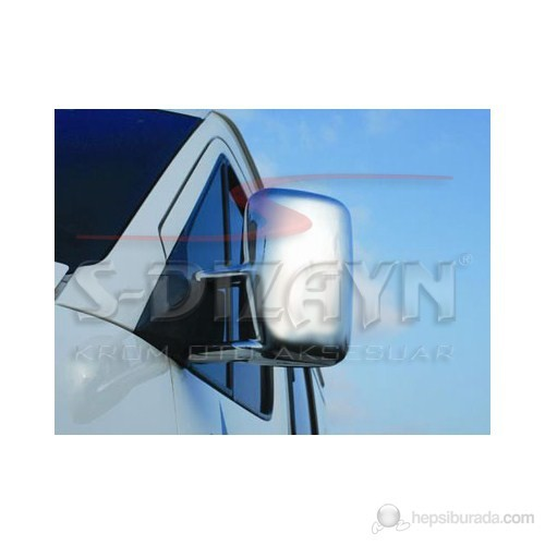S-Dizayn Mercedes Sprinter W 901 Ayna Kapağı 2 Prç. Abs Krom (2000-2006)