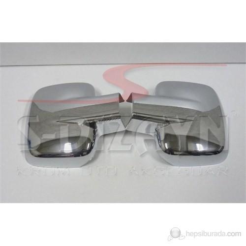 S-Dizayn Mercedes Vito W 638 Ayna Kapağı 2 Prç. Abs Krom (1999-2004)