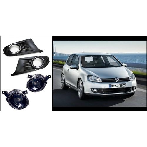 Volkswagen Golf 6 Xenon uyumlu Mercekli sis Lamba Seti