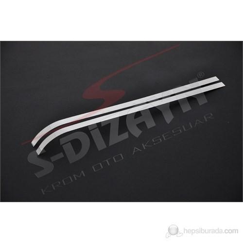 S-Dizayn Citroen Berlingo (2008) Sürgülü Kapı Çıtası 2 Prç. P.Çelik (09.2008>)