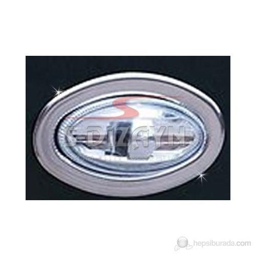 S-Dizayn Citroen C2 Sinyal Çerçevesi 2 Prç. P.Çelik (07.2003)