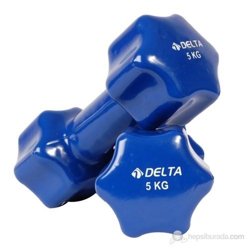 Delta Çiftli Deluxe Pvc Demir Dambıl