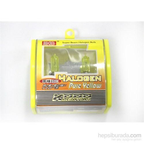 Space Halojen Ampul H9005-100 W Sarı 12V
