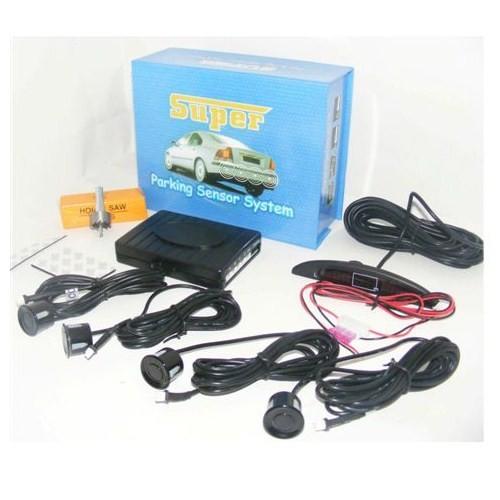 Carsped Park Sensörü 4 Lü Sesli + Ekranlı | 115049