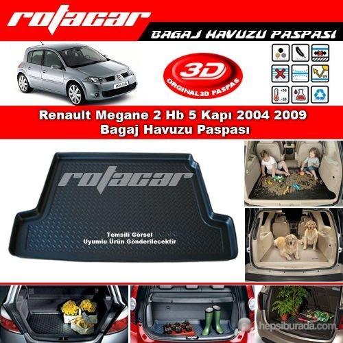 Renault Megane 2 Hb 5 Kapı 2004 2009 Bagaj Havuzu Paspası BG0327
