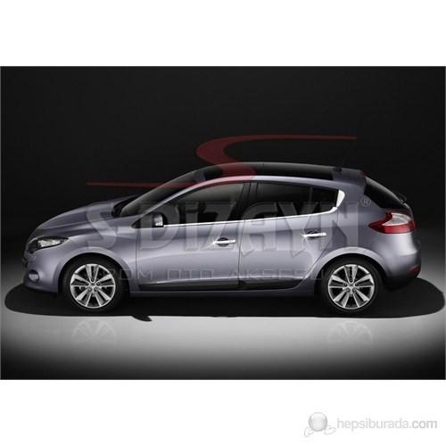 S-Dizayn Renault Megane-III Kapı Kolu 4 Kapı P.Çelik (Sensörlü) (2010>)