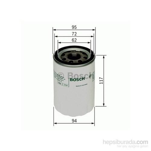 Bosch - Yağ Filtresi Hyundaı H100 Starex 2.5 - Bsc 0 986 Tf0 072
