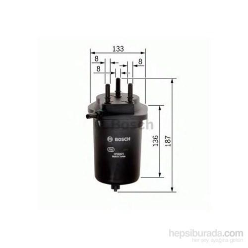 Bosch - Yakıt Filtresi - Dızel Renault Megane Iı 1.5 Dcı - Bsc 0 986 Tf0 126