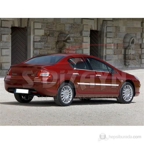 S-Dizayn Peugeot 407 Cam Çıtası 4 Prç. P.Çelik (2005>)