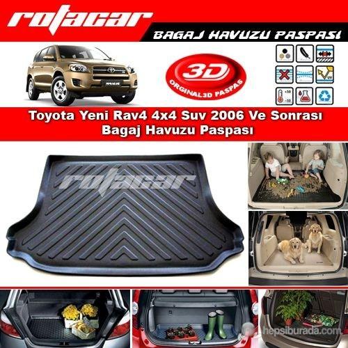 Toyota Rav4 4x4 Suv 2006-2012 Bagaj Havuzu Paspası