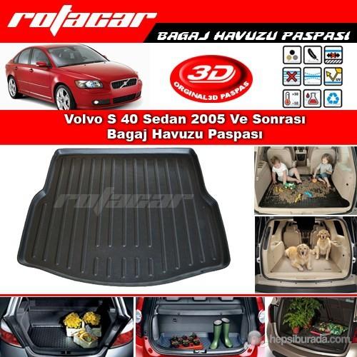Volvo S 40 Sedan 2005 Ve Sonrası Bagaj Havuzu Paspası BG0211