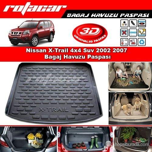 Nissan X-Trail 4x4 Suv 2002 2007 Bagaj Havuzu Paspası BG0118