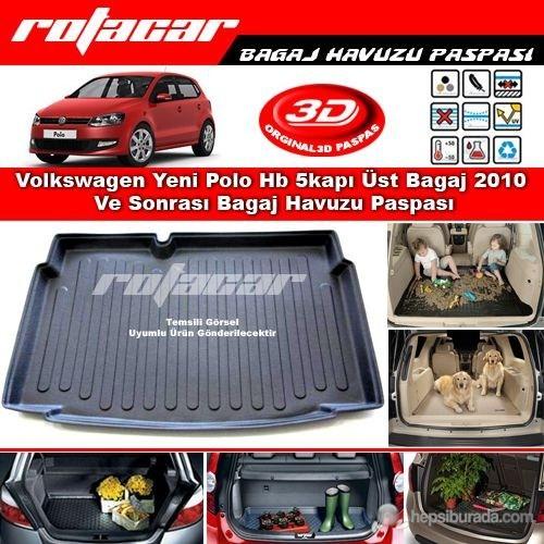 Volkswagen Yeni Polo Hb 5kapı Alt-Üst Set 2010 Ve Sonrası Bagaj Havuzu Paspası BG0195