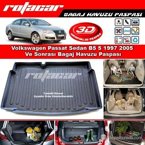 Volkswagen Passat Sedan B5 B5 5 1997 2005 Bagaj Havuzu Paspası BG0201