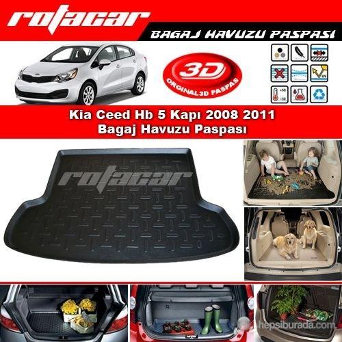 Kia Rio Sedan 2006 2011 Bagaj Havuzu Paspası BG0101
