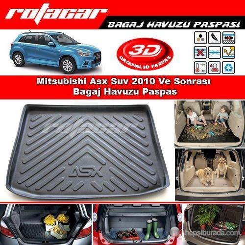Mitsubishi Asx Suv 2010 Ve Sonrası Bagaj Havuzu Paspası BG0113