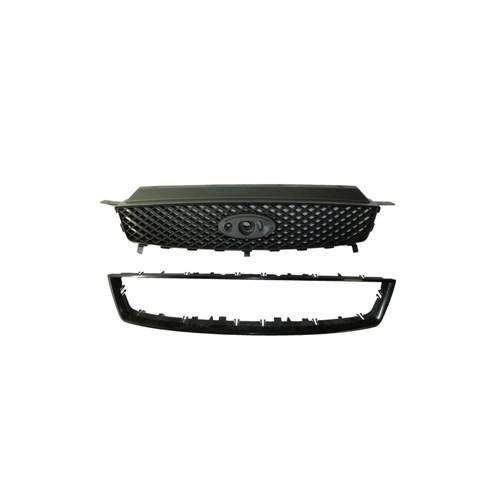 Ford Focus C Max- 04/06 Ön Panjur Koyu Gri Siyah Çıtalı