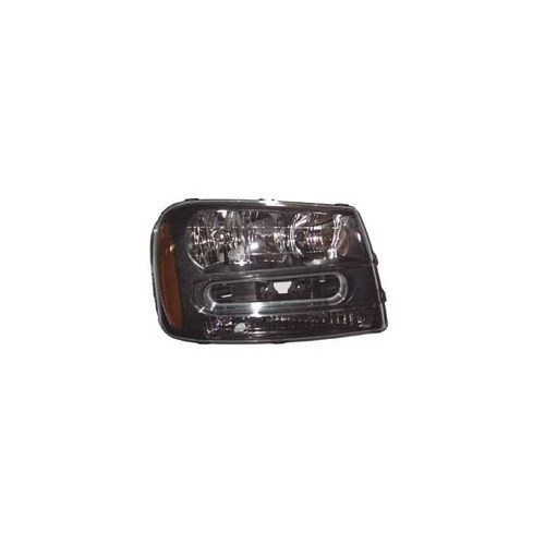 Chevrolet Traıl Blazer- 02/06 Far Lambası Sağ Manuel Füme Sarı S